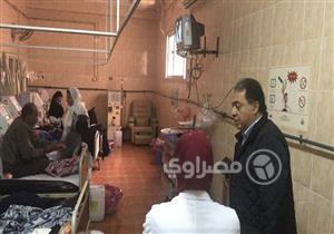 بالصور.. ما الذي أغضب وزير الصحة في مستشفى رأس التين بالإسكندرية ؟