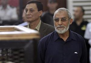 """تأجيل محاكمة بديع و738 متهمًا في """"فض اعتصام رابعة """" لـ 3 مارس"""