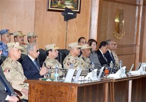 المتحدث العسكري ينشر مقطعًا مصورًا لزيارة السيسي لقيادة الجيش الجديدة