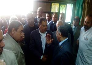 """بالصور.. وزير الصحة يوجه بتطوير مستشفى """"التضامن"""" ببورسعيد"""