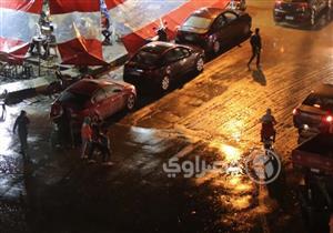 بالصور.. سقوط أمطار على القاهرة