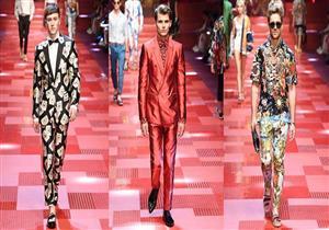 """للرجل.. اختر """"بدلتك"""" الصيفية من دار أزياء Dolce & Gabbana من أسبوع الموضة في ميلانو"""