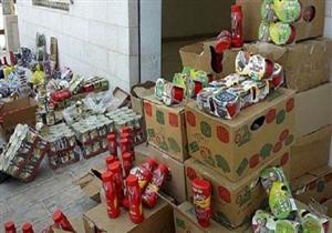 ضبط 34 طن مواد غذائية غير صالحة في 4 مصانع بالجيزة