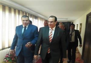 """وزير القوى العاملة يصل الدقهلية للمشاركة في ختام """"مصر أمانة بين إيديك"""""""