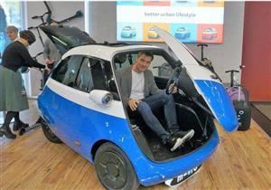 """بالصور.. """"Microlino"""" سيارة كهربائية هي الأصغر للبيع بـ260 ألف جنيه"""
