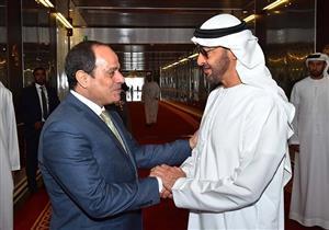 """السيسي يؤكد دعم مصر الكامل للتعاون """"السعودي- الإماراتي"""""""