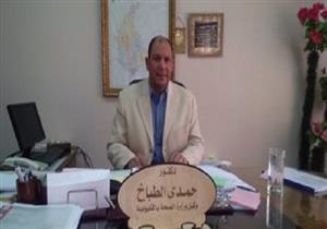 وكيل وزارة الصحة بالقليوبية يتفقد مستشفى حميات بنها