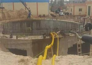 تواصل أعمال توسعة محطة تحلية مياه الشيخ زويد