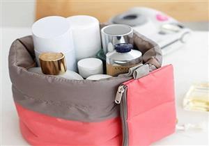 نصائح لترتيب حقيبة أدوات التجميل أثناء السفر