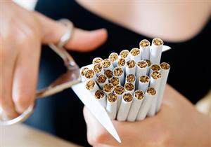 بالصور- رجل يستخدم طريقة غريبة للإقلاع عن التدخين