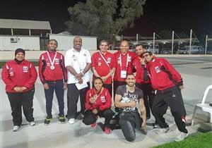 3 ذهبيات لمصر في ثالث أيام بطولة الجائزة الكبري لألعاب القوي البارالمبية