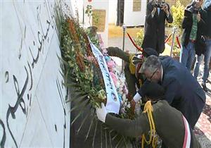 في احتفالات عيدها القومي.. إكليل من الزهور على النصب التذكاري لشهداء المنيا