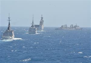 ختام فعاليات التدريب البحري المصري الفرنسي المشترك بنطاق البحر الأحمر