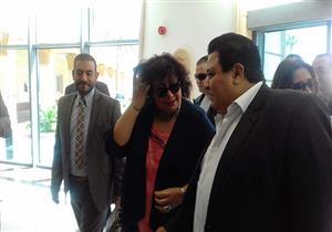 """وزيرة الثقافة تزور مستشفى الأورمان بالأقصر برفقة أبطال """"سلم نفسك"""""""