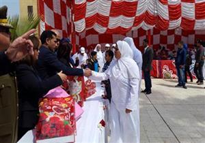 بمناسبة عيد الأم.. الداخلية تحتفل بنزيلات سجن القناطر