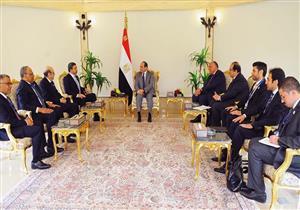 السيسي يؤكد لوزير خارجية الإمارات مواجهة التدخلات التي تستهدف الدول العربية
