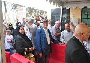 """""""طوابير"""" أمام لجان الاقتراع بالرياض قبل ساعات من انتهاء الانتخابات- صور"""