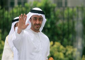 وزير خارجية الإمارات يغادر القاهرة بعد لقاء السيسي