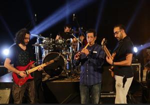 """بالصور - كواليس استعداد فرقة الكينج لحفل """"الأقصر عاصمة الثقافة العربية"""""""