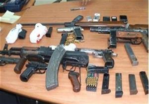 الأمن العام يضبط 60 قطعة سلاح في المحافظات