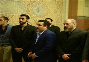 وفاء عامر ومنير مكرم وهاني رمزي أبرز الحاضرين في عزاء طارق عبد الجليل
