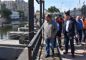 محافظ الإسكندرية: شكاوى المواطنين من المياه تراجعت بنسبة 95 % (صور)