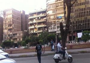 محافظة الجيزة تبدأ غلق شارع أحمد عرابي