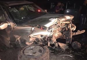 مصرع 2 وإصابة 4 في تصادم سيارتين على طريق الإسكندرية الصحراوي