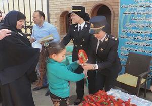"""بالصور.. """"أمن كفر الشيخ"""" تحتفل بعيد الأم مع أسر الشهداء"""