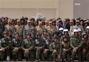 """السيسي لـ""""مقاتلي العملية الشاملة"""": """"ناخد النار ولا تتكوي بها مصر"""""""