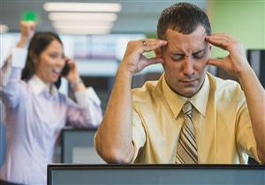 احذر.. الضوضاء في مكان العمل تهدد بالتوتر المرضي