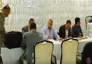 استمرار الفرز في اللجنة العامة بمصر الجديدة
