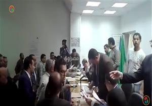 تسليم محاضر اللجان الفرعية بساحل روض الفرج للجنة العامة