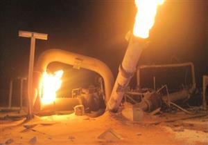 """شاهد في """"اقتحام السجون"""" : العناصر المسلحة فجروا خط الغاز بالعريش واتحدوا لتدمير الوطن"""