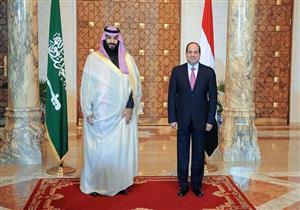 """الرئاسة تكشف كواليس لقاء السيسي و""""بن سلمان"""" في قصر الاتحادية -صور"""