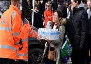 """""""وحش من الشرق"""" يقطع مياه الشرب عن آلاف المنازل البريطانية (صور)"""