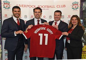 """دقائق مجانية لأهداف محمد صلاح.. """"فودافون"""" توقع عقد رعاية مع ليفربول الإنجليزي"""