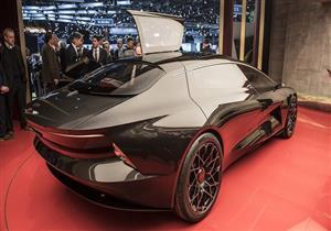 """""""أستون مارتن"""" تكشف عن سيارتها الكهربائية الفاخرة بمعرض جنيف (صور)"""