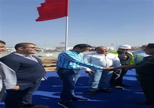 رئيس الهيئة الهندسية للقوات المسلحة يتفقد هناجر مدينة دمياط للأثاث