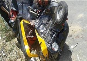 مصرع شخصين وإصابة 3 في حادث بطريق أسيوط-القاهرة