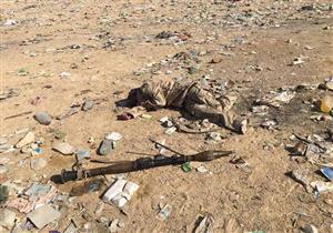 القوات المسلحة تنشر 13 صورة لمقتل إرهابيين في محاولة هجوم بوسط سيناء