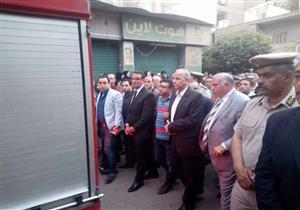 تشييع جثمان الشهيد المقدم أحمد الخولي بشبرا الخيمة (صور)