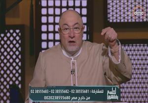 بالفيديو.. خالد الجندى: نحمد الله آناء الليل وأطراف النهار على جيشنا المبارك
