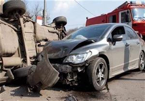 إصابة 6 أشخاص إثر حادث تصادم بطريق إسكندرية الزراعي