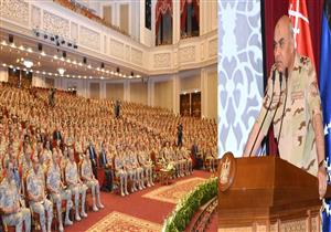وزير الدفاع: الجيش سيظل ركيزة للقيم والمبادئ والعمل من أجل مصر