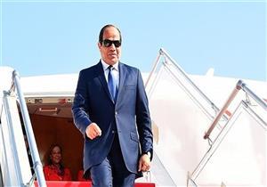 الرئيس السيسي قادماً من السعودية بعد المشاركة في القمة العربية