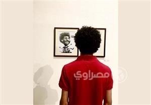 في الملاعب واللوحات.. محمد صلاح يخطف الأضواء في ملتقى الكاريكاتير
