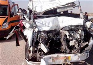 إصابة 7 طلاب بأكاديمية الدلتا في حادث تصادم على طريق جمصة