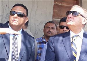 بالصور- وزير التنمية المحلية يتفقد المدفن الصحي في مدينة السادات