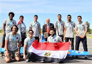"""""""فرحة من السما"""".. هندسة الإسكندرية تفوز بالمركز الأول في مسابقة طيران عالمية"""
